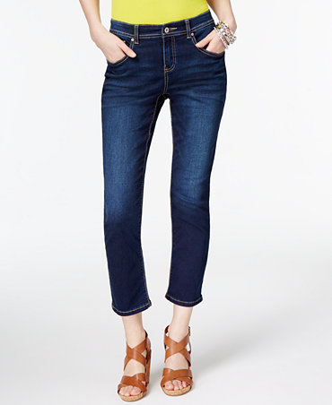 INC International Concepts Petite Cropped Skinny Jeans